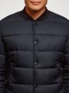 Куртка стеганая на заклепках oodji для мужчины (синий), 1L511077M/48733N/7900N - вид 4