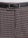 Брюки прямые с декоративным карманом oodji для женщины (серый), 21706031-1/46284/2910C - вид 4