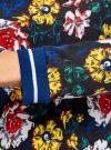 Свитшот принтованный с контрастной отделкой oodji для женщины (разноцветный), 24801012M/43039/2912F - вид 5