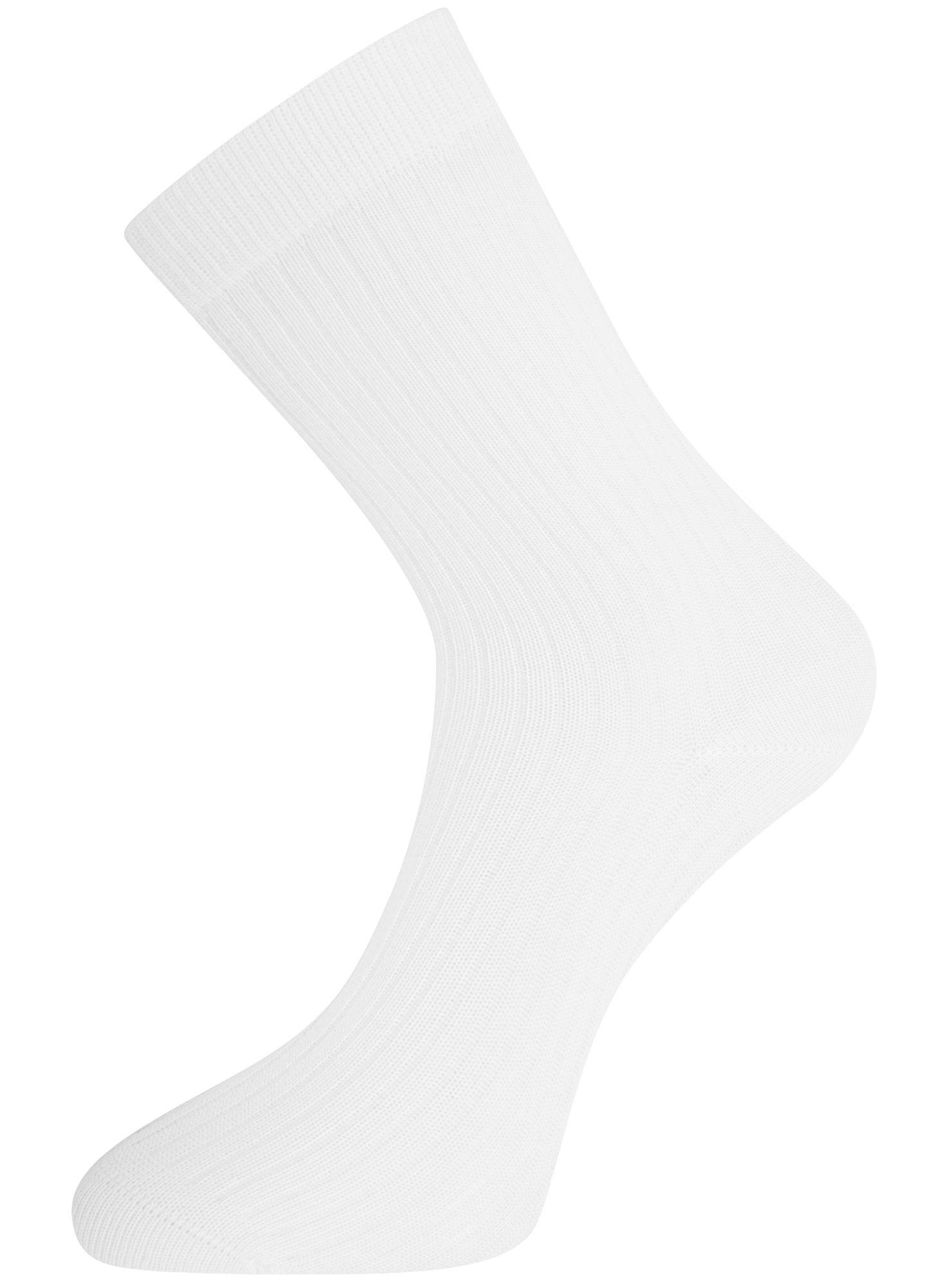 Комплект из трёх пар носков oodji для женщины (разноцветный), 57102908T3/15430/2