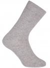 Носки базовые высокие oodji для мужчины (серый), 7B213001M/47469/2300M