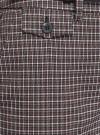 Брюки прямые с декоративным карманом oodji для женщины (серый), 21706031-1/46284/2910C - вид 5