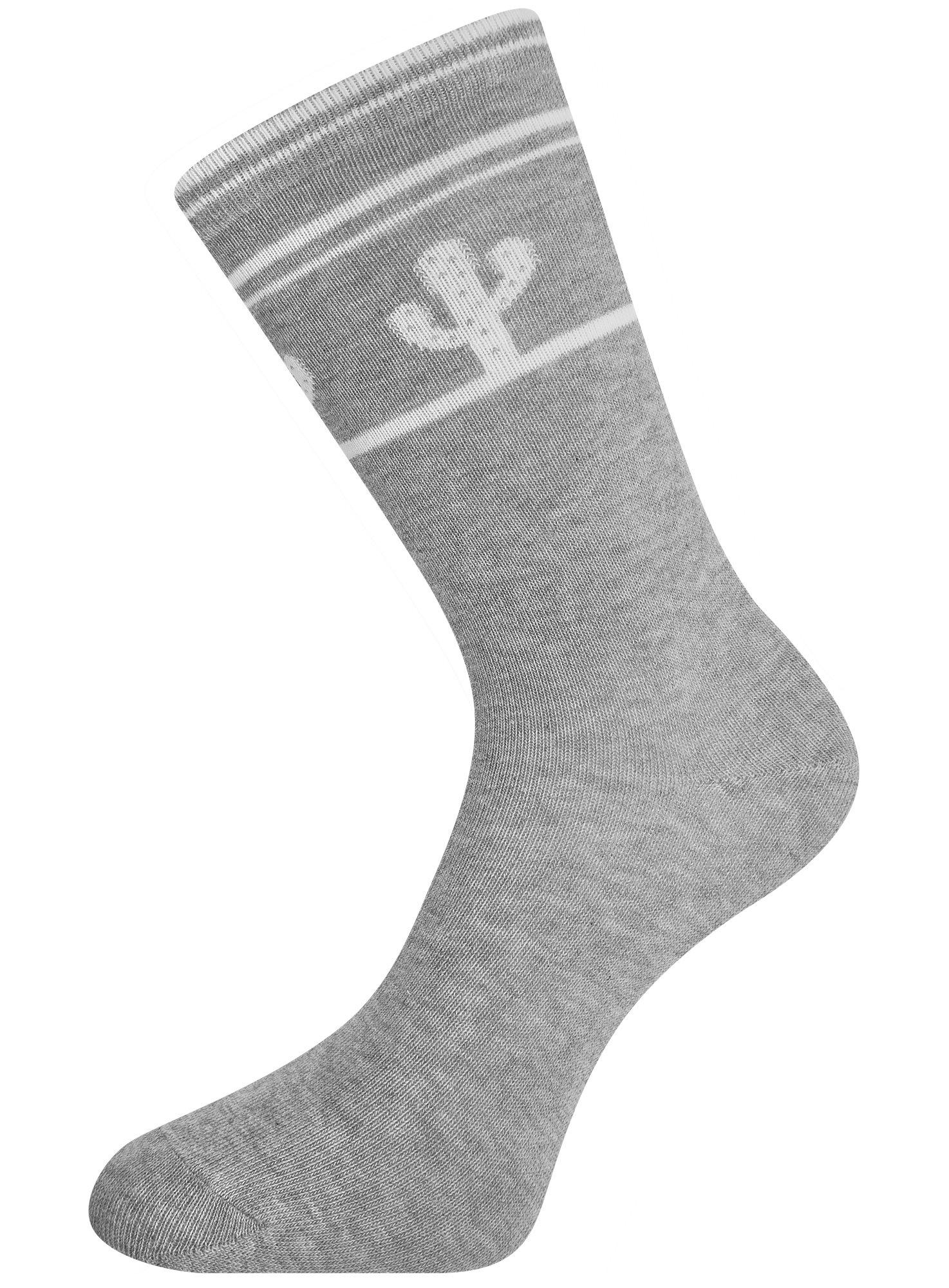 Комплект высоких носков (6 пар) oodji для женщины (разноцветный), 57102902T6/47469/33