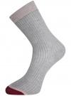 Комплект из трёх пар носков oodji для женщины (разноцветный), 57102908T3/15430/3 - вид 3