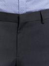Брюки классические зауженные oodji для мужчины (серый), 2B210015M/34425N/2500O