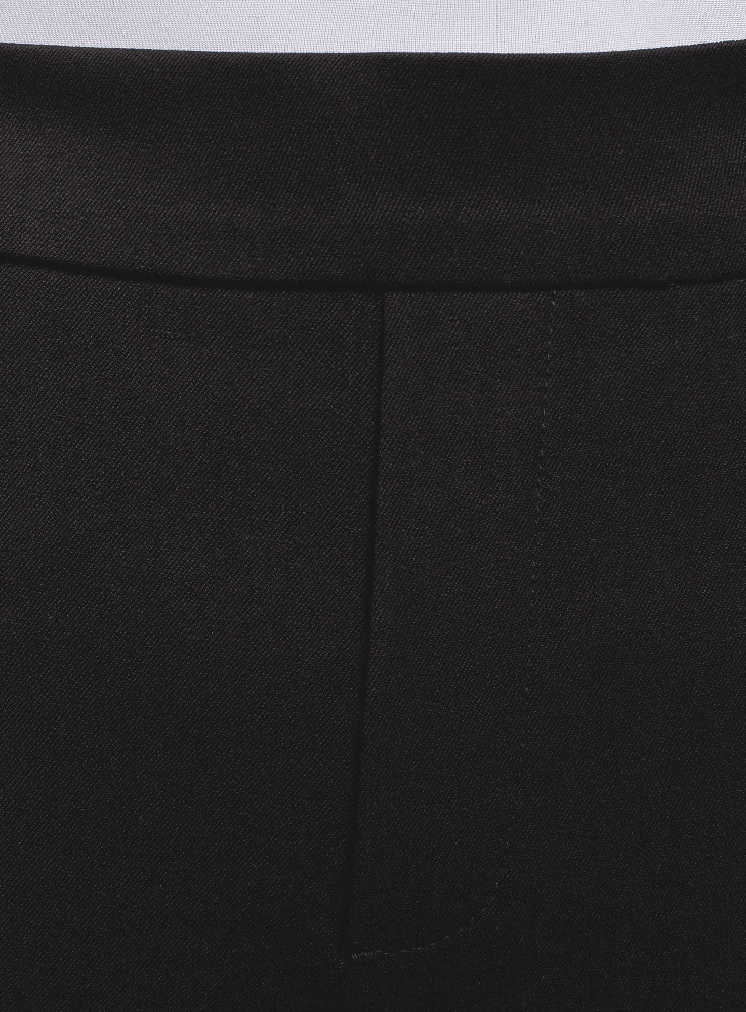 Брюки зауженные на резинке oodji для женщины (черный), 11703091-2/45844/2900N