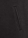 Платье трикотажное с рукавом 3/4 oodji для женщины (черный), 24001100-2/42408/2900N - вид 5