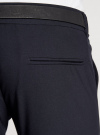 Брюки классические slim fit oodji для мужчины (синий), 2L210166M/44320N/7900O - вид 5