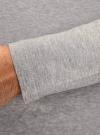 Футболка с длинным рукавом и принтом oodji для мужчины (серый), 5L512008M/44501N/2352P - вид 5