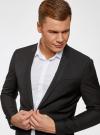 Пиджак классический oodji для мужчины (черный), 2B420016M/46317N/2900N - вид 4