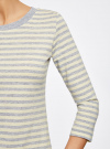 Комплект футболок с длинным рукавом (2 штуки) oodji для женщины (серый), 14201005T2/46158/2050S - вид 5
