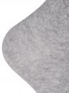 Носки базовые высокие oodji для мужчины (серый), 7B213001M/47469/2300M - вид 3