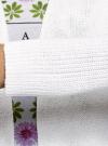 Кардиган вязаный удлиненный oodji для женщины (белый), 63207200/19725/1000N - вид 5