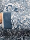 Свитшот прямого силуэта с круглым вырезом oodji для женщины (белый), 14801018/15118/1274E - вид 5