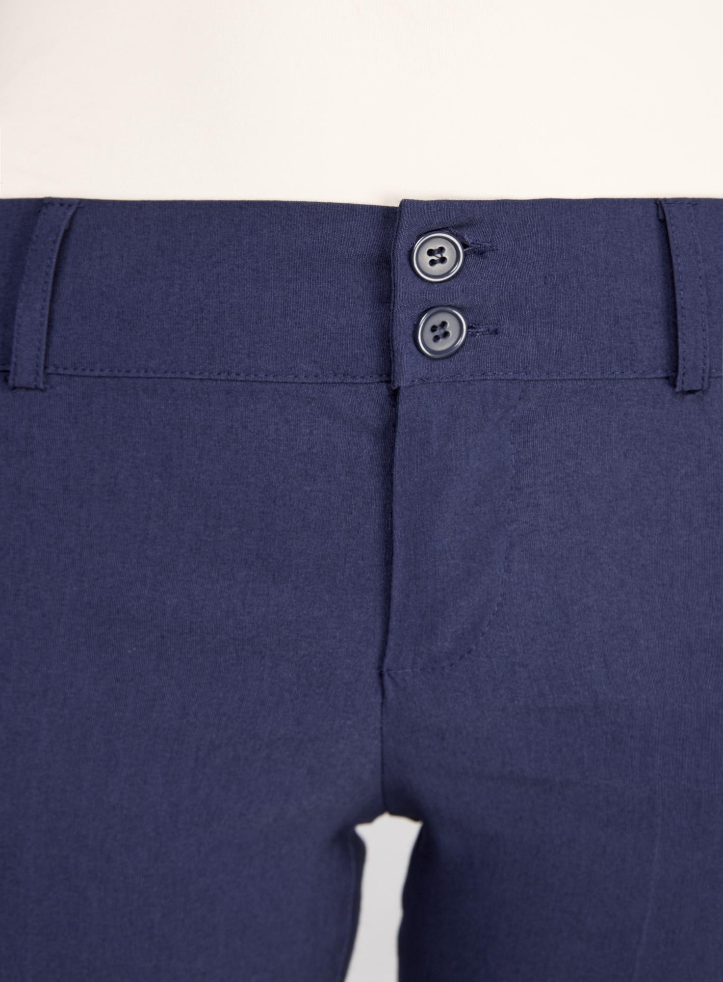 Брюки стретч узкие oodji для женщины (синий), 11700212B/14007/7900N