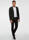 Пиджак классический oodji для мужчины (черный), 2B420016M/46317N/2900N - вид 6