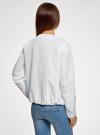Ветровка легкая на молнии oodji для женщины (белый), 10303061/49219/1000U - вид 3