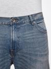 Джинсы базовые slim oodji для мужчины (синий), 6B120050M/45594/7500W - вид 4