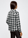 Рубашка хлопковая с нагрудными карманами oodji для женщины (серый), 13L00001/43223/1229C - вид 3