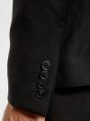 Пиджак классический oodji для мужчины (черный), 2B420016M/46317N/2900N - вид 5
