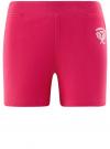 Шорты хлопковые с вышивкой  oodji для женщины (розовый), 17000025-1/48434/4700P - вид 6