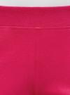 Шорты хлопковые с вышивкой  oodji для женщины (розовый), 17000025-1/48434/4700P - вид 4