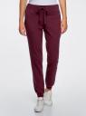 Комплект трикотажных брюк (2 пары) oodji #SECTION_NAME# (разноцветный), 16700030-15T2/47906/19NDN - вид 2