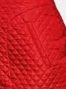 Юбка из фактурной ткани с молнией спереди oodji #SECTION_NAME# (красный), 11600410/38325/4501N - вид 4