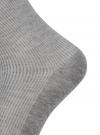 Комплект из трех пар хлопковых носков oodji #SECTION_NAME# (разноцветный), 57102806T3/48417/2 - вид 3