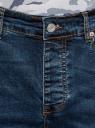 Джинсы базовые slim oodji для мужчины (синий), 6B120039M-4/50618/7900W