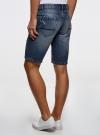 Шорты джинсовые oodji #SECTION_NAME# (синий), 6L220017M/35771/7500W - вид 3