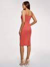 Платье-майка трикотажное oodji для женщины (розовый), 14015007-8B/46944/4301N - вид 3