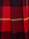 Юбка короткая в складку oodji для женщины (красный), 11606034-4/45879/7945C