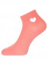 Комплект из трех пар хлопковых носков oodji для женщины (разноцветный), 57102705T3/48022/20