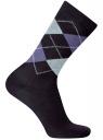 Комплект высоких носков (3 пары) oodji для мужчины (разноцветный), 7B233001T3/47469/1906O