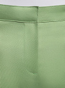 Брюки базовые летние oodji для женщины (зеленый), 11704017B/14522/6200N