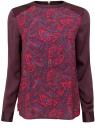 Блузка oodji для женщины (розовый), 21411102/45056/4188E
