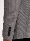 Пиджак однобортный на пуговицах oodji #SECTION_NAME# (серый), 2L420281M/49802N/2512C - вид 5