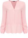 Блузка oodji для женщины (розовый), 21411075/24681/4000N