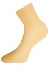 Комплект безбортных носков (3 пары) oodji для женщины (разноцветный), 57102801T3/48022/8 - вид 3