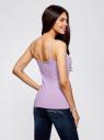 Майка женская (упаковка 2 шт) oodji для женщины (фиолетовый), 14305023T2/46147/8000N