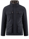 Куртка с накладными карманами oodji #SECTION_NAME# (синий), 1L411003M/34716N/7900N