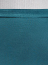 Юбка-карандаш с эластичным поясом oodji #SECTION_NAME# (синий), 14101084/33185/6C00N - вид 4
