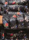 Куртка стеганая с круглым вырезом oodji для женщины (черный), 10204040-1B/42257/2919F - вид 5