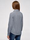 Рубашка хлопковая приталенного силуэта oodji #SECTION_NAME# (синий), 23K02001/48461/1075G - вид 3