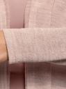 Кардиган трикотажный с капюшоном oodji #SECTION_NAME# (розовый), 19200005/49180/4A12M - вид 5