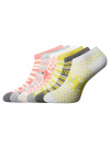 Носки укороченные (комплект из 6 пар) oodji #SECTION_NAME# (разноцветный), 57102462T6/47213/19BFG - вид 2