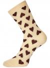 Комплект высоких носков (3 пары) oodji для женщины (разноцветный), 57102902T3/47469/44 - вид 3
