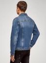 Куртка джинсовая с нагрудными карманами oodji #SECTION_NAME# (синий), 6L300010M/46627/7500W - вид 3