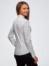 Рубашка приталенная с нагрудными карманами oodji #SECTION_NAME# (белый), 13L12001B/43609/1029O - вид 3